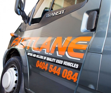 VEHICLE WRAP: FASTLANE