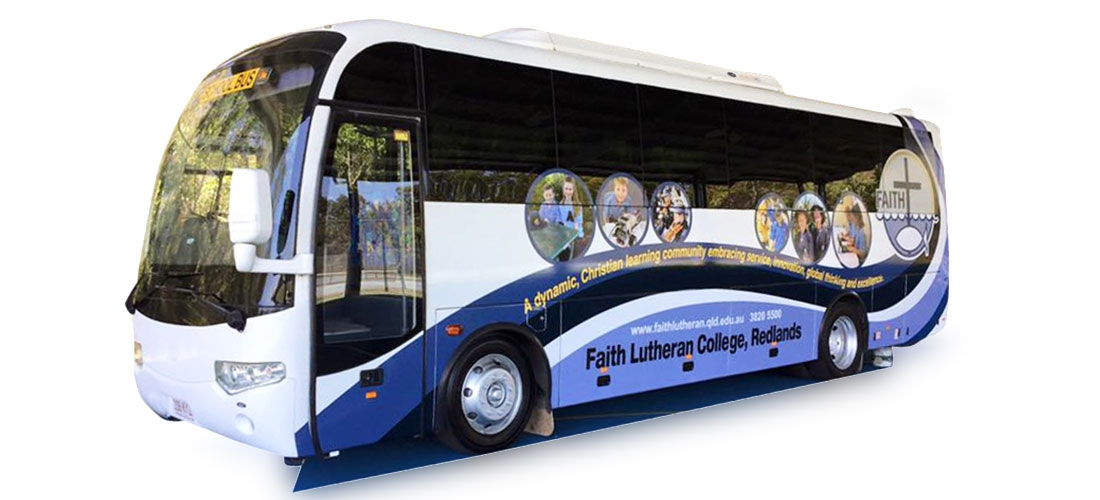 VEHICLE WRAP: FAITH LUTHERAN COLLEGE