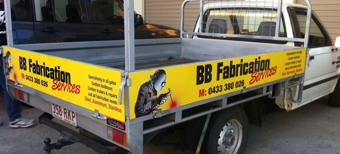 VEHICLE WRAP: BB FABRICATION