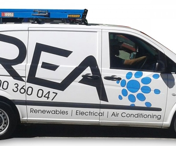 VEHICLE WRAP: REA