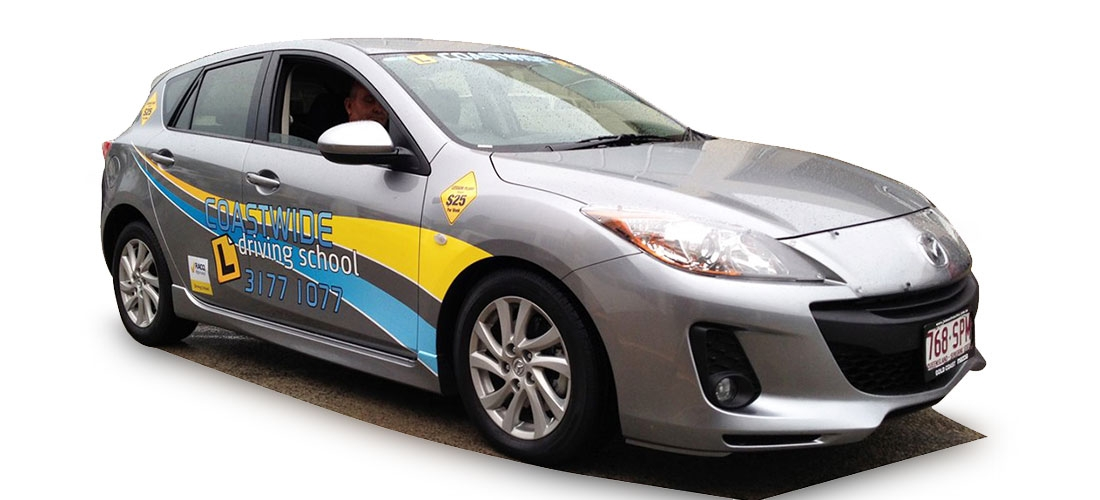 VEHICLE WRAP: COASTWIDE DRIVING SCHOOL