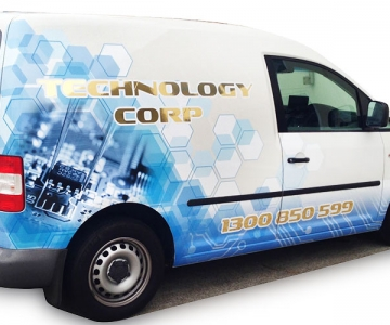 VEHICLE WRAP: TECHNOLOGY CORP