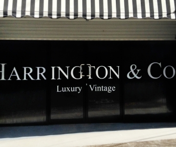 SHOP SIGNAGE: HARRINGTON & CO
