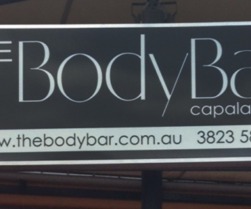LIGHTBOX: THE BODY BAR